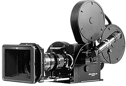 The Photo-Sonics, Inc. 35mm 4ER high-speed camera.